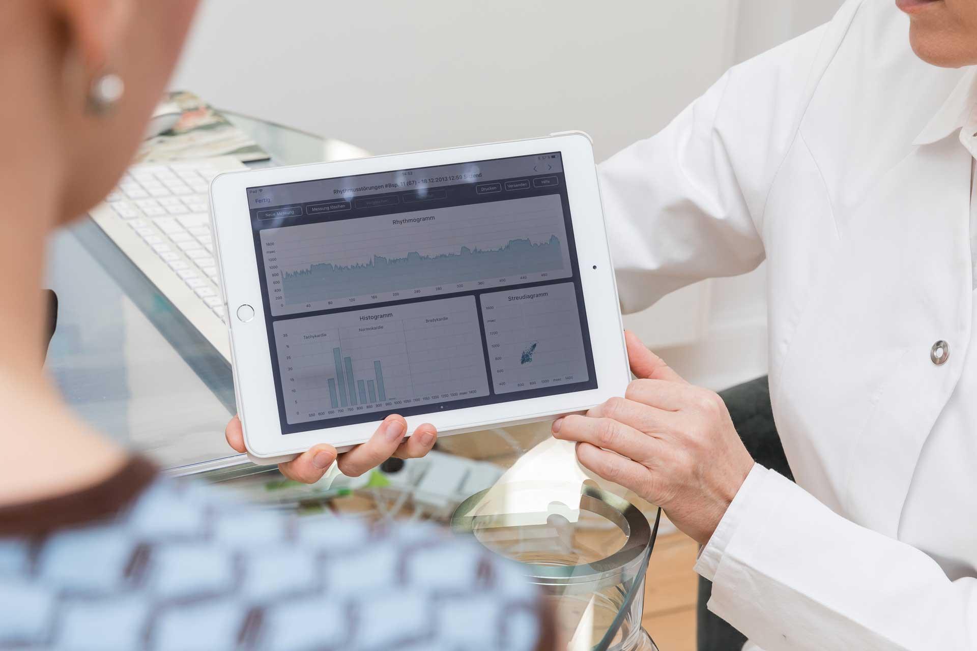 Privatarztpraxis Integrative Medizin – Stress Vorsorgeuntersuchung und Analyse des vegetativen Nervensystem in Braunschweig.